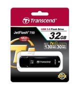 Флешка Transcend 32 GB JetFlash 750 Black TS32GJF750K